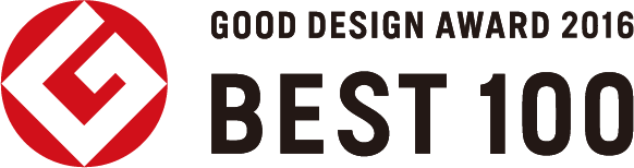 GOOD DESIGN AWARD 2016 BEST100